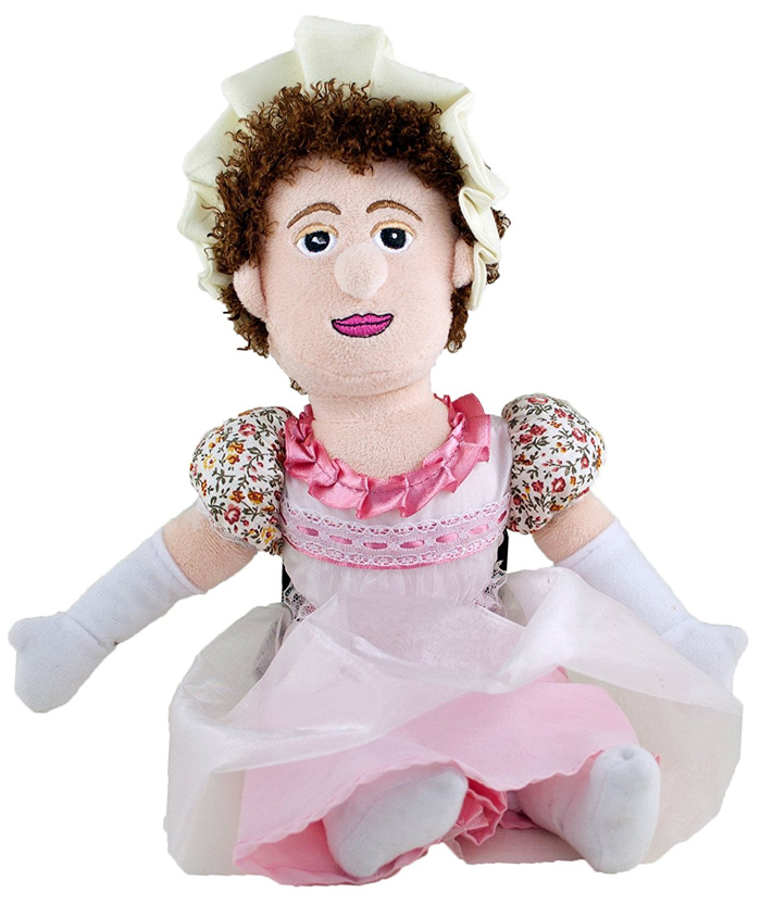 Boneca Jane Austen Little Thinker