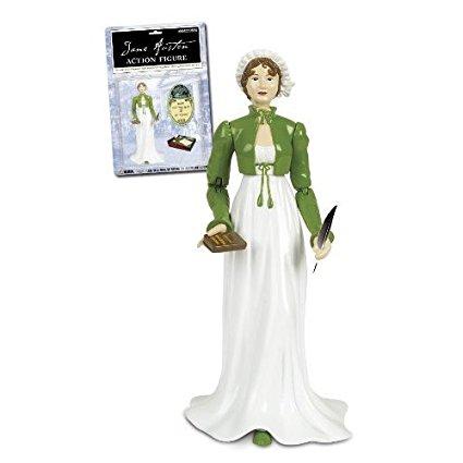 Boneca Jane Austen Action Figure Verde