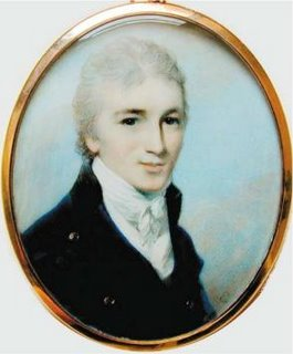 Tom Lefroy - Thomas Langlois Lefroy, aquarela por George Engleheart, 1798. - Imagem: The Independent.