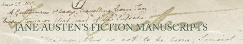 Manuscritos da ficção de Jane Austen