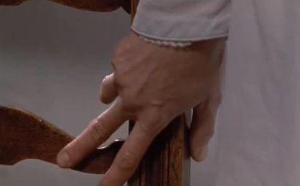 A mão de Anne Elliot