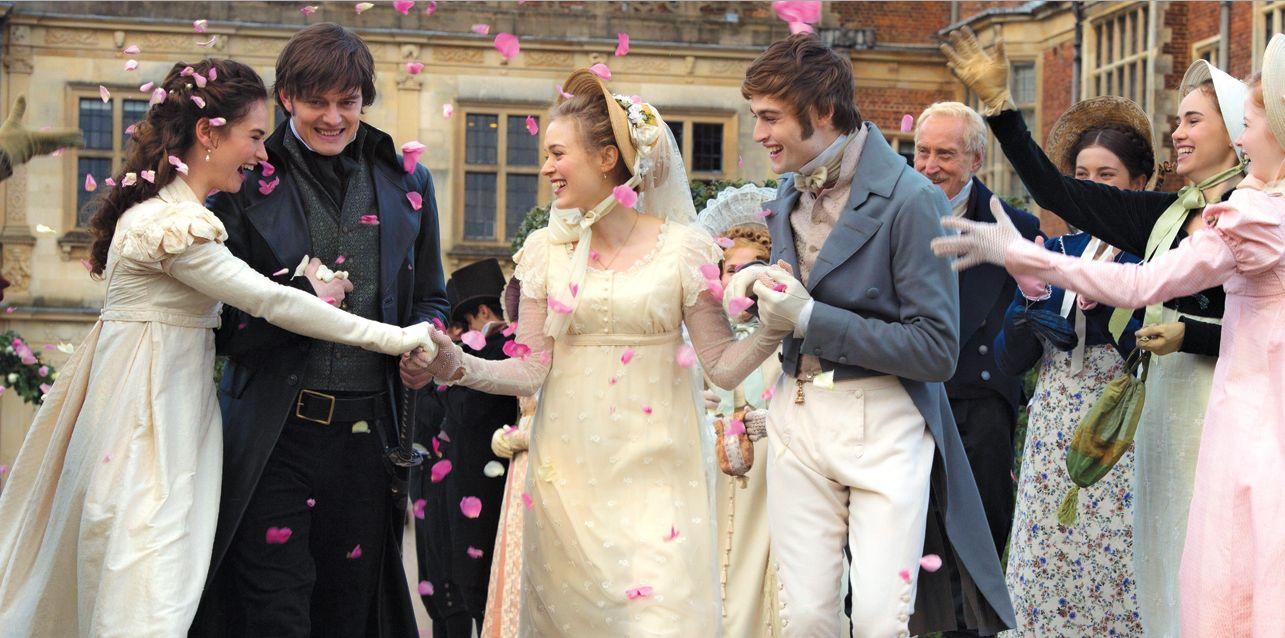 Casamento Orgulho e preconceito e zumbis