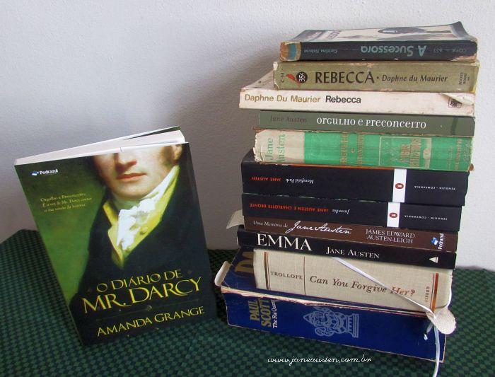 Mr. Darcy e muitos livros