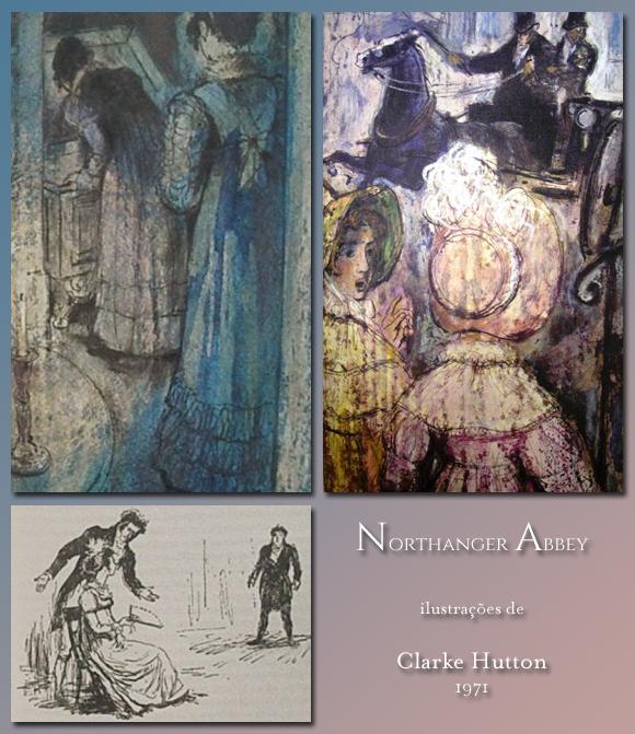 Northanger Abbey ilustrado por Clarke Hutton