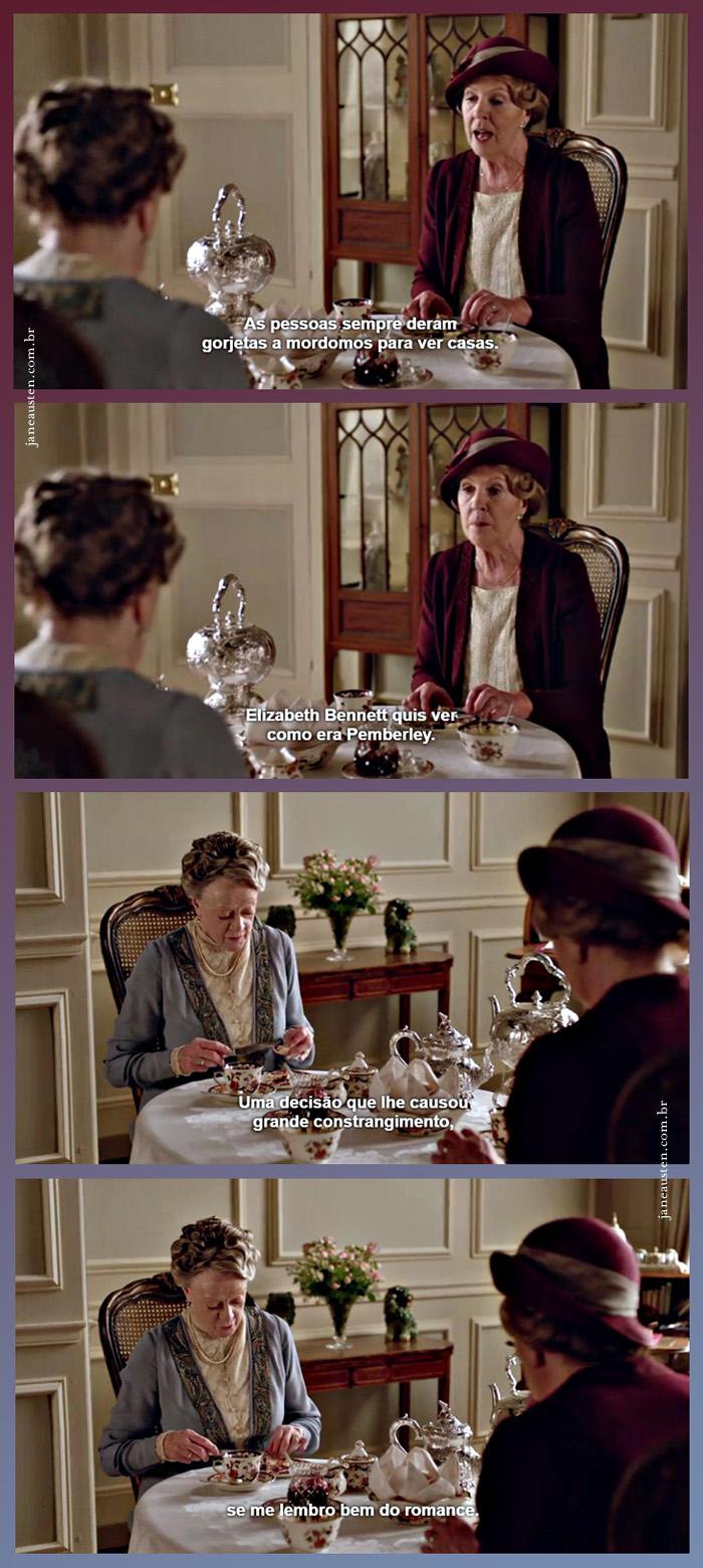 Elizabeth Bennet em Downton Abbey