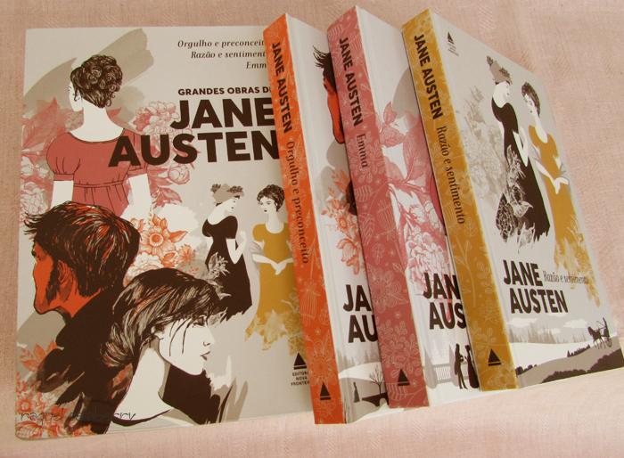 Jane Austen na editora Nova Fronteira