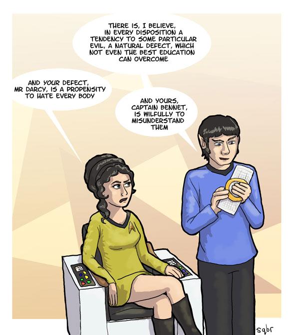 Jane Austen e Star Trek