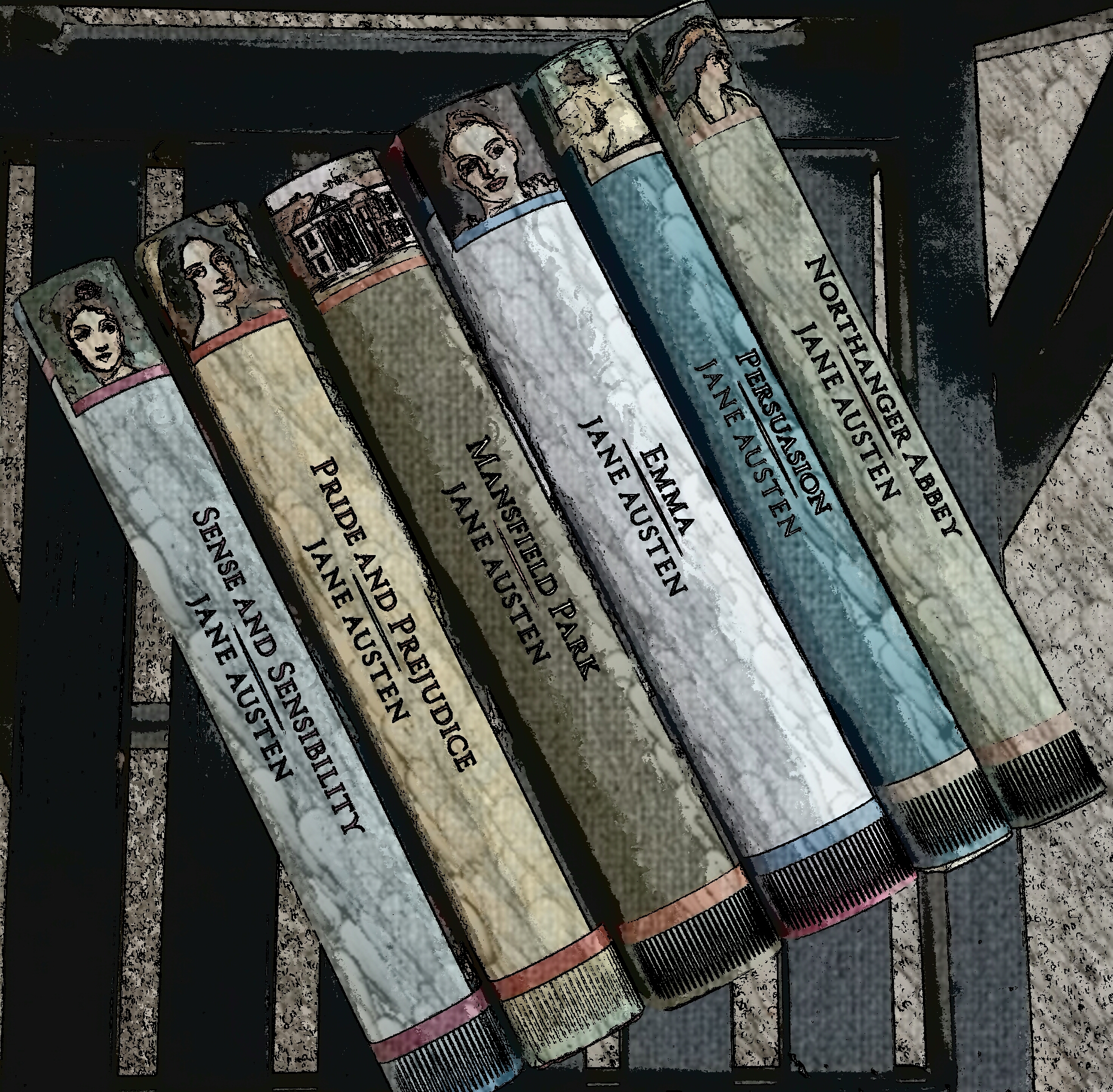 Signature Editions na Biblioteca Jane Austen