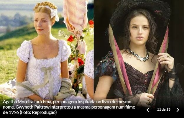 Personagens de Orgulho e Paixão: Emma