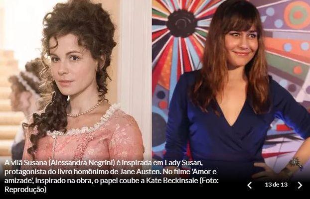 Personagens de Orgulho e Paixão: Lady Susan