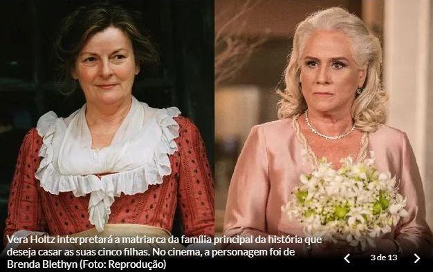 Personagens de Orgulho e Paixão: senhora Bennet