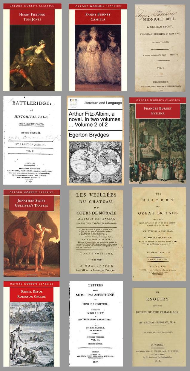 Livros que Jane Austen leu – Parte 1