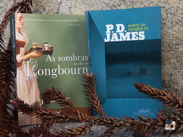 As sombras de Longbourn e Morte em Pemberley | Sorteio