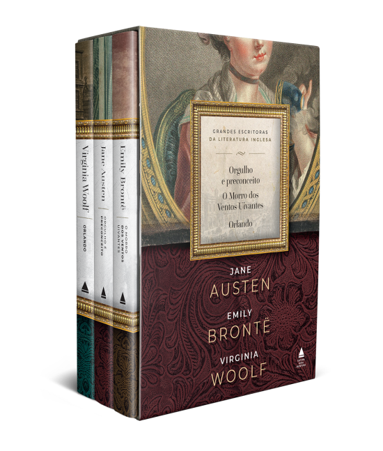 Jane Austen, Emily Brontë e Virginia Woolf