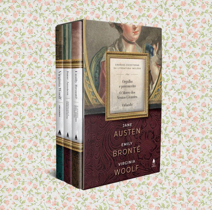 Box Austen, Brontë e Woolf | Sorteio