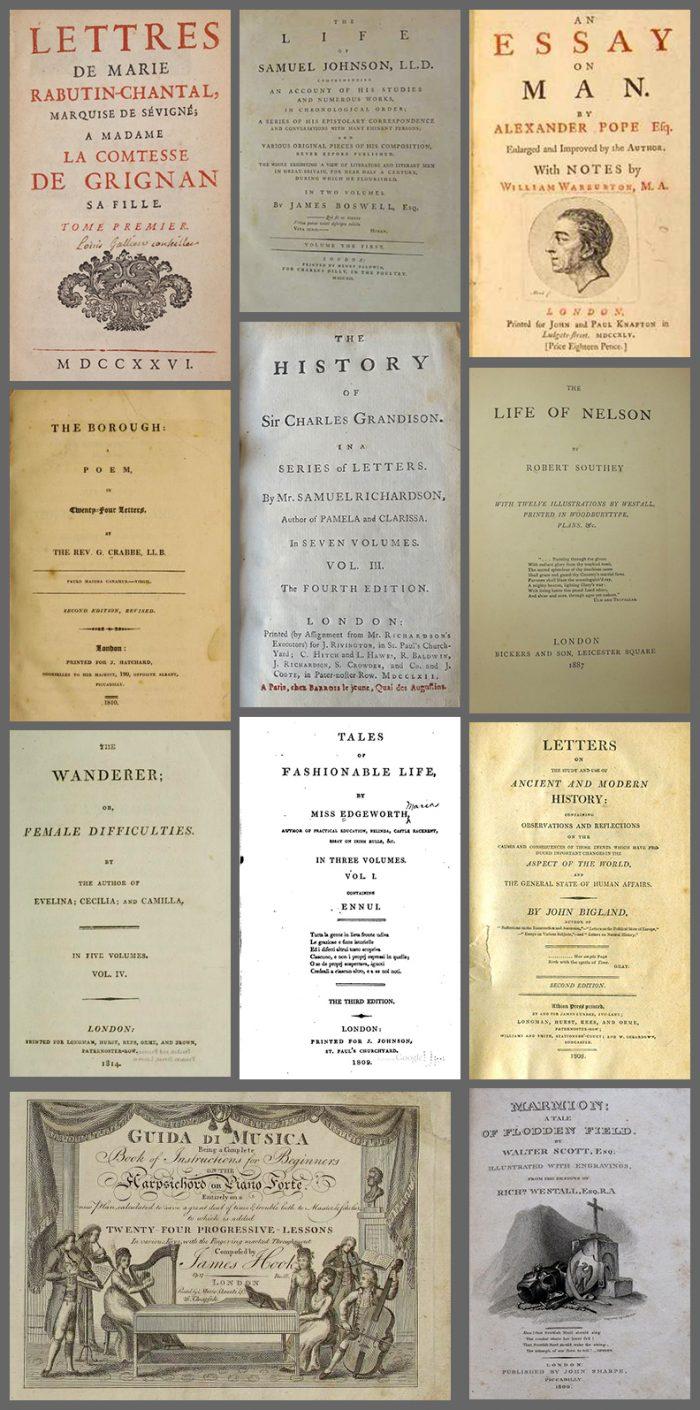 Livros que Jane Austen leu Parte – 4