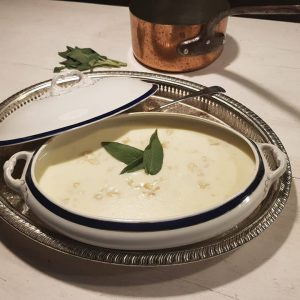 Dine like Jane Austen Menu White Soup