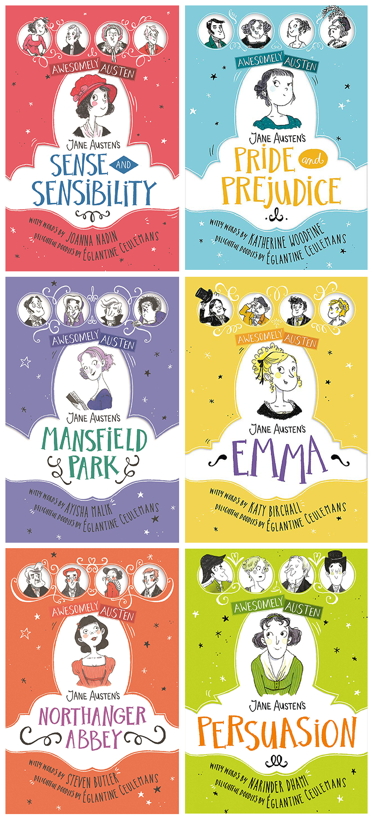 Awesomely Austen Capas